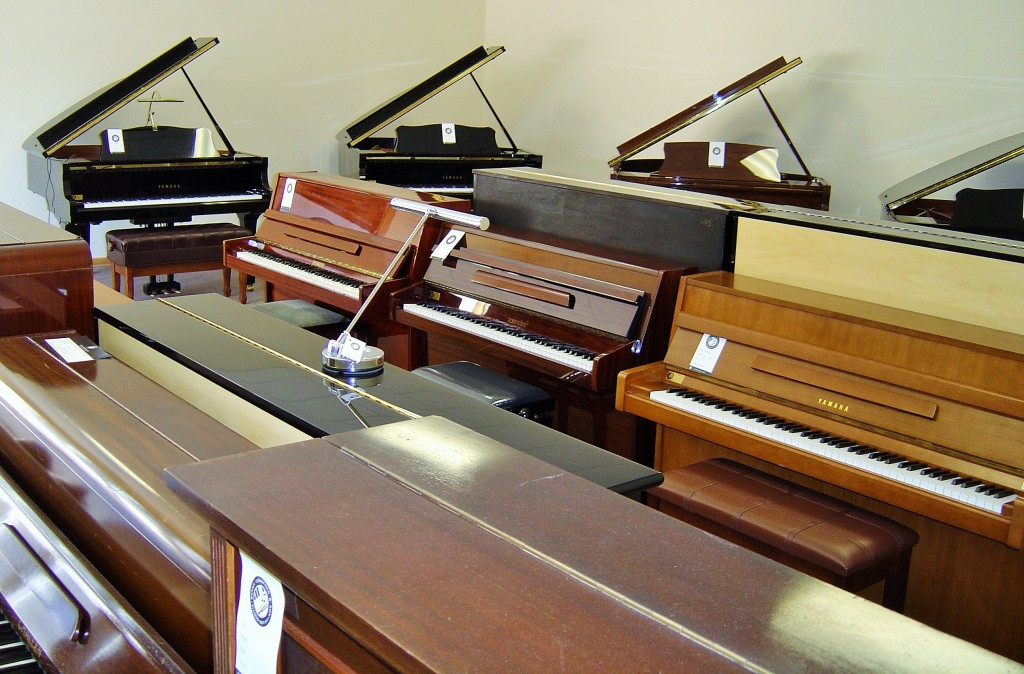 Benny Crawford & Son Piano Showroom