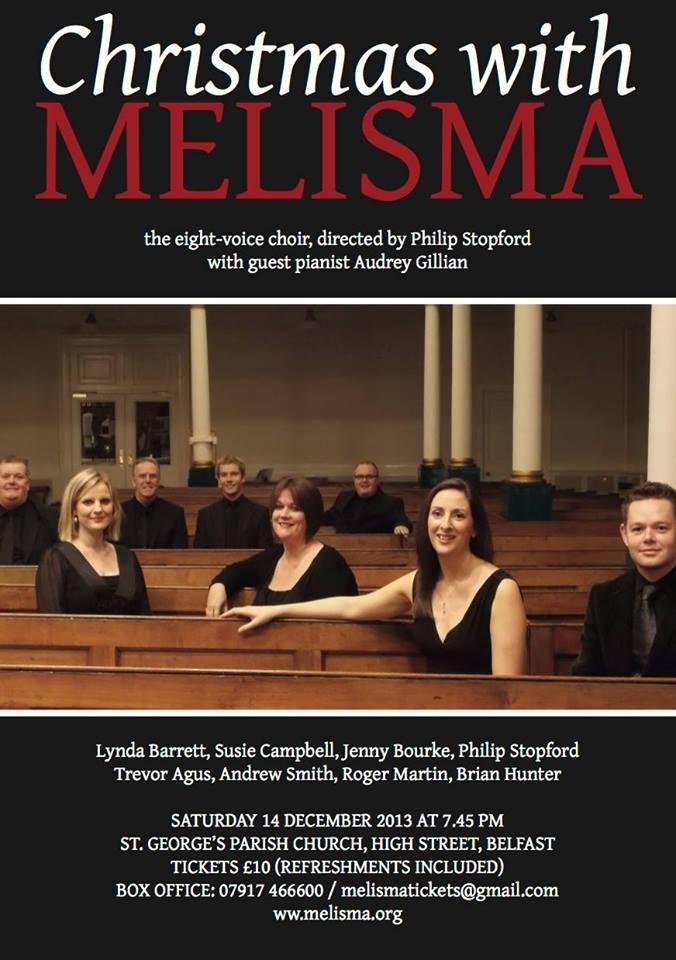 Melisma Christmas concert