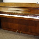 Fuchs & Mohr piano in Mahogany colour