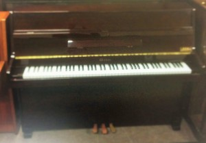 Weber piano mahogany