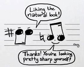 funny music notes piano